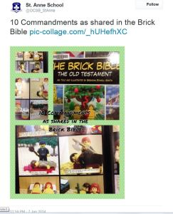 St Anne Brick Bible Collage