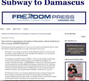 Subway to Damascus