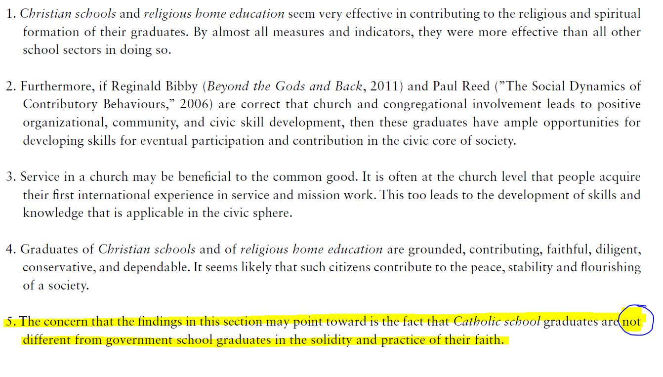 Survey Says: What Good Are Christian Schools ...
