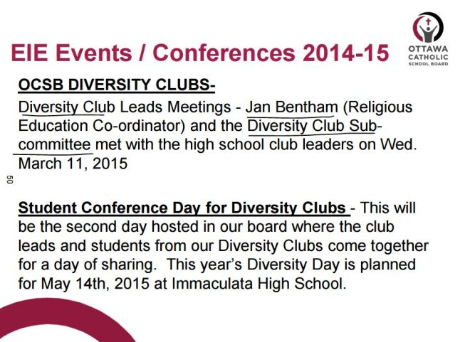 Bentham Diversity Clubs