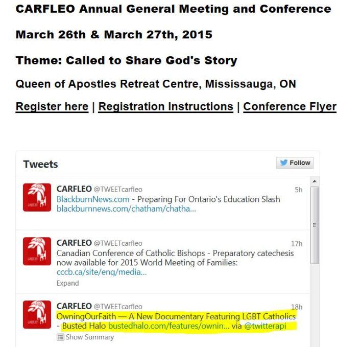 CARFLEO Owning Our Faith