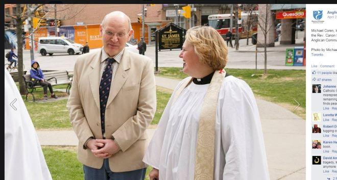 Michael Coren Anglican