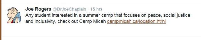 Camp MicahJoe