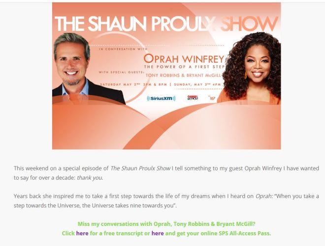Shaun Oprah