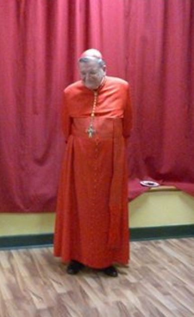 Cardinal Burke at St Theresa's parish Ottawa