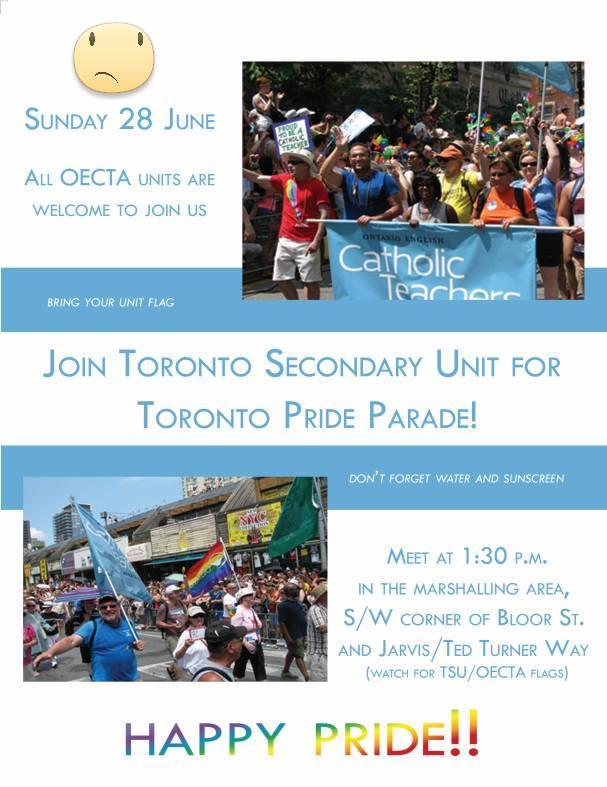 TorontoOECTA Pride 2015