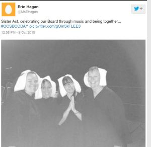 Are they mocking nuns