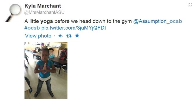 Yoga assumption