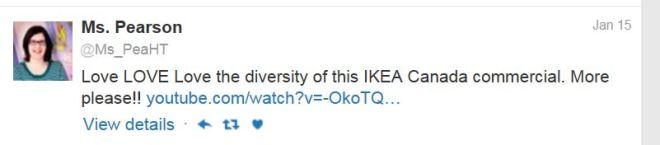 Pearson IKEA Gay ad