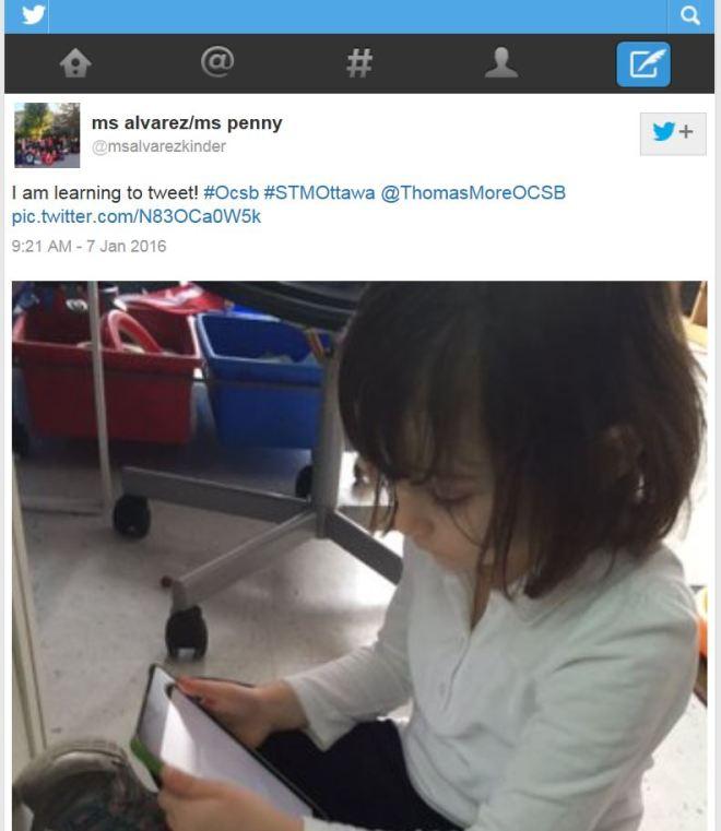 Kindergarten Twitter