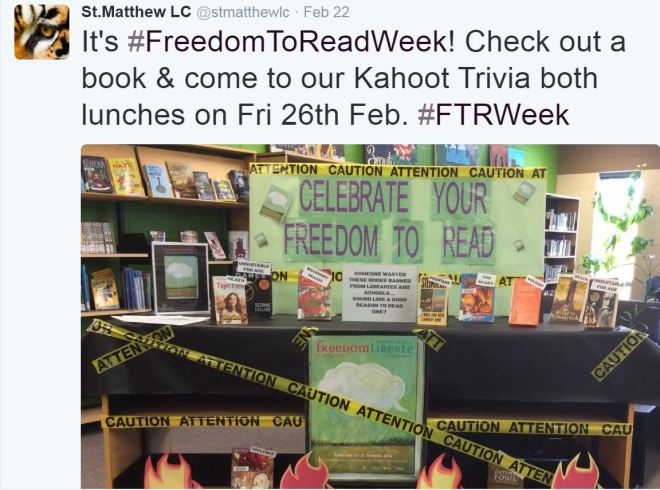 OCSB Freedom to Read