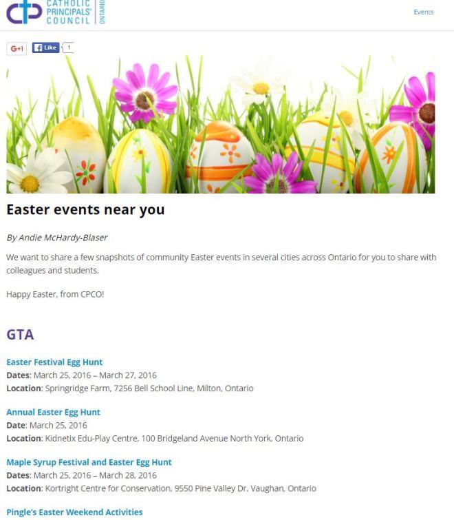 Easter Egg CPCO