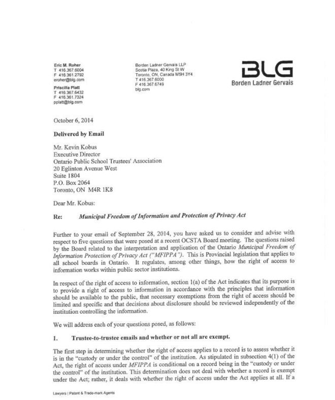Legal Advice page 1