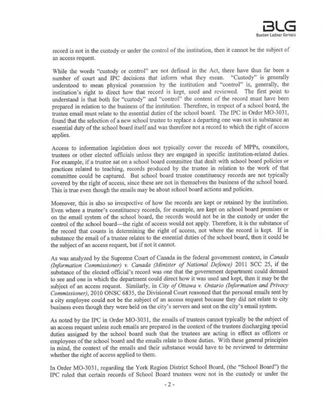 Legal Advice page 2