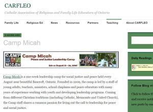 CARFLEO Camp Micah