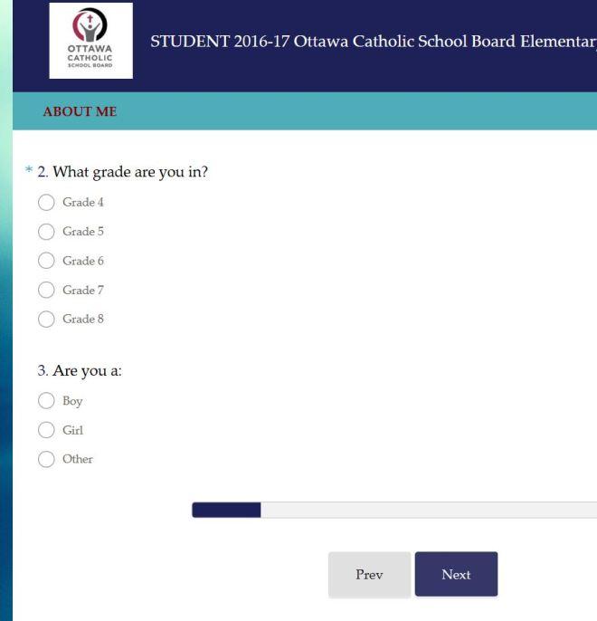 OCSB Survey